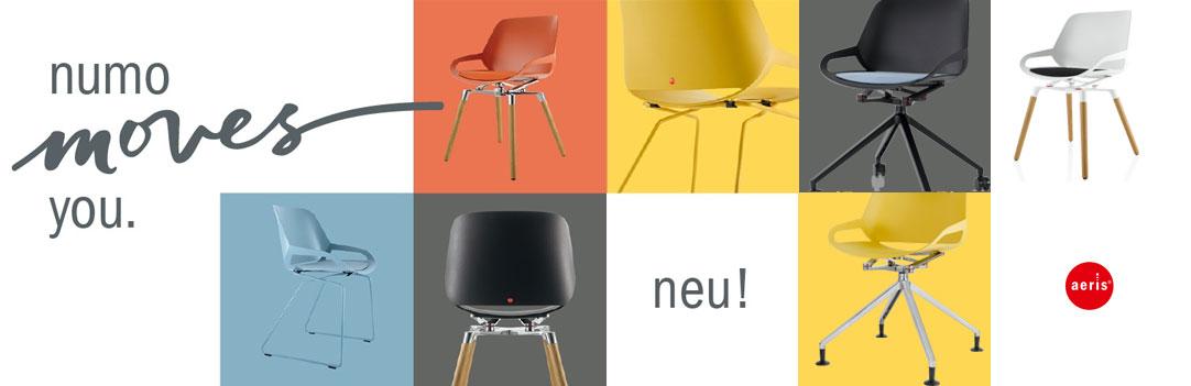Aeris numo – der bewegende Designstuhl bei Riemenschneider-Wiesbaden