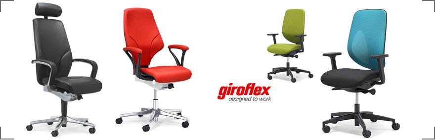 Neu bei Riemenschneider-Wiesbaden.de - Bürostühle von giroflex
