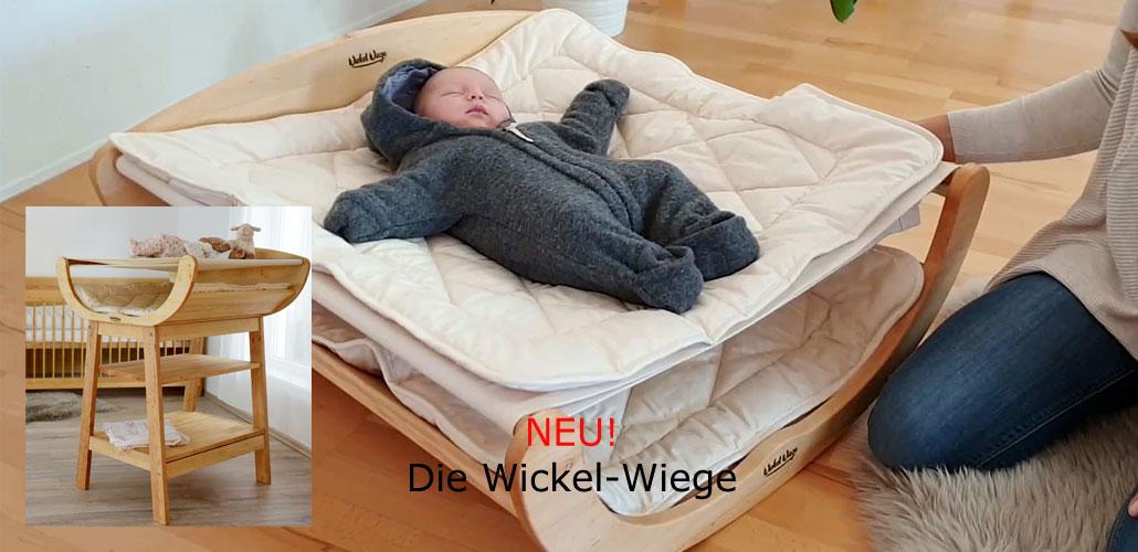 BeneVita Wickel Wiege bei Riemenschneider-Wiesbaden
