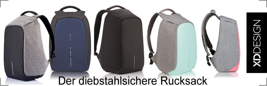 Diebstahlsichere Rucksäcke von XD Design bei Riemenschneider-Wiesbaden.de