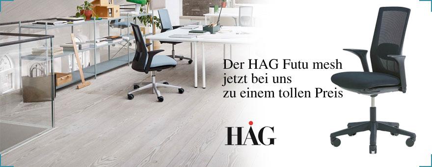 Der neue HAG Futu mesh bei Riemenschneider-Wiesbaden.de