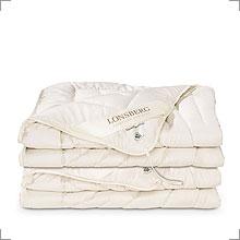 Decken und Kissen aus Wildseide von Lonsberg bei Riemenschneider Wiesbaden
