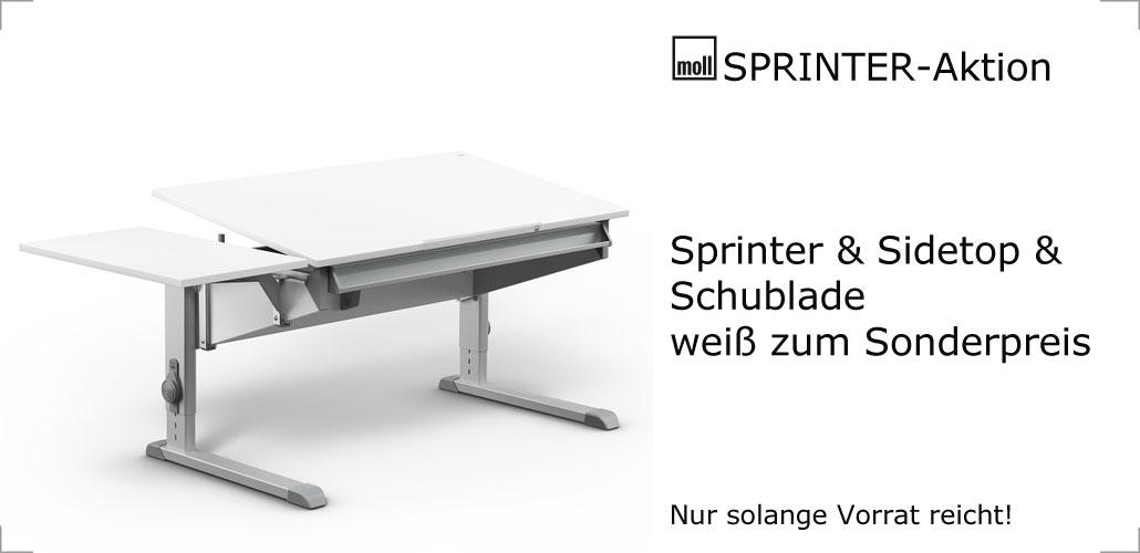 moll sprinter Aktion bei Riemenschneider-wiesbaden.de: Sprinter + Schublade + Sidetop für 365,- Euro