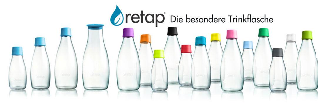 Retap Trinkflaschen bei Riemenschneider-Wiesbaden.de