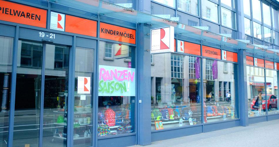 Möbelabteilungen Riemenschneider Wiesbaden