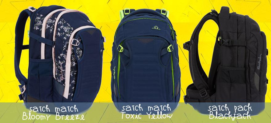 Die neuesten Satch Modelle Bloomy Breeze, Toxic Yellow oder Blackjack bei riemenschneider-wiesbaden.de
