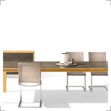 Tische von Team 7 mit Keramikoberfläche bei Riemenschneider Wiesbaden