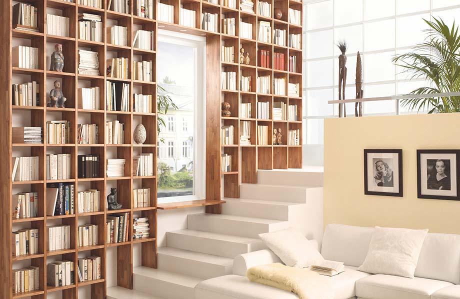 Trend Bücherwand bei Riemenschneider Wiesbaden